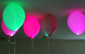 Светящиеся шары на светодиодах своими руками.