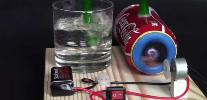 Как сделать электрический насос своими руками