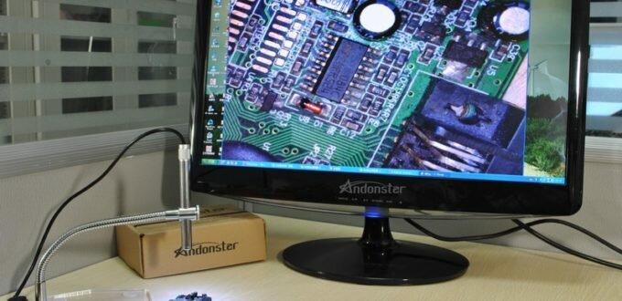 Микроскоп из веб — камеры своими руками.